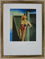 "Salvador Dali ""Bleeding roses"" Lithograph Limited 2000 pcs."