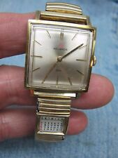 Men's Vintage HELBROS Swiss Mechanical 17 Jeweled Watch w/ Calendar