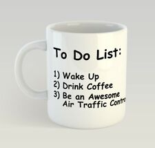 Air Traffic Controller To Do List Funny Mug Gift Novelty Humour Birthday