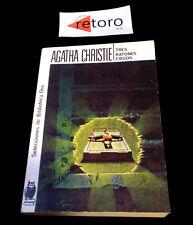 BOOK LIBRO TRES RATONES CIEGOS Agatha Christie Biblioteca Oro 134 Ed. 1988