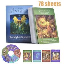 78 Karten Schutzengel Tarot Deck Karte Wahrsagekarten Orakelkarten Tarotkarten