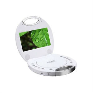 "Sylvania SDVD7046-WHITE 7"" Portable DVD Player with Integrated Handle"