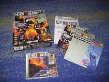 MechWarrior 3 PC MECH WARRIOR 3 Prima Edizione Big Box da collezione classico di culto