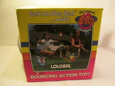 Vintage The Original Lolo Bal With Groove Bouncing Action Toy   t3829