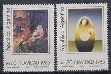 Argentina argentina 1985 ** mi.1788/89 navidad Christmas pinturas [sr1935]