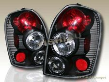 2002-2003 MAZDA PROTEGE5 BLACK TAIL LIGHTS REAR LAMPS