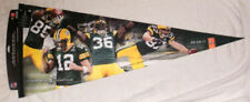"PACKERS Super Bowl XLV JUMBO 40"" pennant SB Aaron Rodgers Jordy Nelson Jennings"
