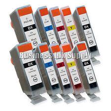 10 Ink Cartridge for Canon 2 PGI-5 BK 2 CLI-8BK 6 CLI-8