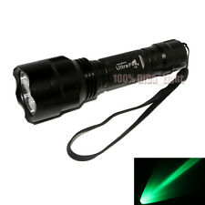 Ultrafire C8 CREE Q5 LED Green light 1Mode 250 Lumens 18650 Tactical Flashlight
