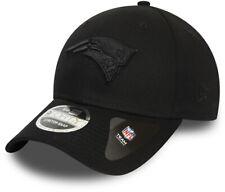 New England Patriots New Era 940 NFL Black On Black Stretch Snap Cap