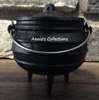 Cast iron Midi pot Cauldron Incense Candles Condiments