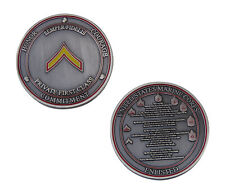 US Marine Corps Semper Fidelis Private First Class Challenge Coin