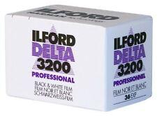 Ilford Delta 3200 135 / 35mm esposizione 36 Professional BLACK & WHITE Pellicola * NUOVA