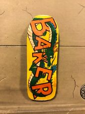LC BOARDS Fingerboard Boxy Old School Shape Baker Graphic Shiny Finish Brand New