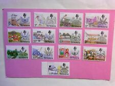 St HELENA: 1971 Decimal Flowers 13values to 50p MNH  Sg261/73