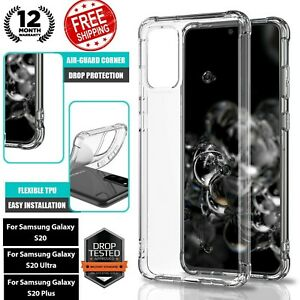 Samsung Galaxy S20 Plus Ultra Case Shockproof Soft Crystal Clear Premium Cover