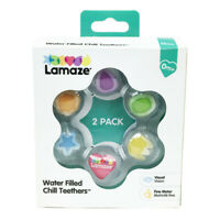 LC27619 Lamaze Chill Teethers Water Filled Teething Soother Toy 2pk Baby 0mths+