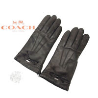 Coach gloves Black Woman Authentic Used Y1758