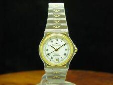 Maurice Lacroix Classic Chronometer Gold Mantel / Edelstahl Damenuhr / Ref 29795