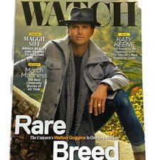WATCH Magazine March April 2020 Walton Goggins Rare Breed Katy Keene Maggie Siff