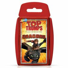 Top Trumps How To Train Your Dragon (Dreamworks Dragons) Card Game New Sealed