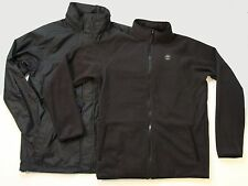 New Timberland Benton 3 in 1 jacket Men's Size Med Black Free Shipping