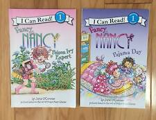 FANCY NANCY SET OF 2 CHILDRENS BOOKS I CAN READ READING Level 1 JANE O'CONNOR