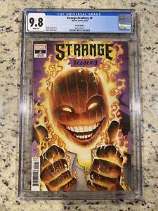 Strange Academy #2 CGC 9.8 Arthur Adams Variant cover