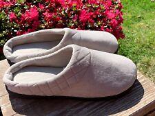 DEARFOAMS Comfort Khaki Beige House Clog Slippers Slides Womens Sz L 9 10 💖m💖