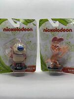 "Ren And Stimpy 3"" Mini Figures Nickelodeon"