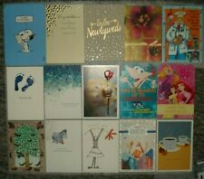 Variety lot of 15 Hallmark Ag Assorted Greeting cards & envelopes