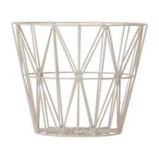Ferm Living Wire Basket Grey / Storage Basket