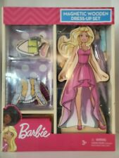 Barbie Magnetic Wooden Dress-Up Set **BRAND NEW**