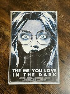 🚨😱 THE ME YOU LOVE IN THE DARK #1 HUTCHISON-CATES 616 A Variant LTD 750 Scream