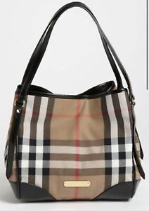 Burberry Bag  Canterbury Medium Check With Matching Wallet Authentic