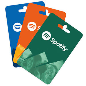 Spotify - 120 GBP Pounds One Year Spotify Prepaid Gift Card