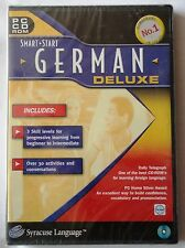 SMART START GERMAN DELUXE PC CD-ROM LANGUAGE LEARNING TUITION brand new & sealed