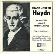 HAYDN: KEYBOARD TRIOS, VOLUME II, THE EIGHT LATE TRIOS - NEW, SEALED CD