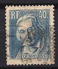 France 1934 Joseph Marie Jacquard Yvert n° 295 oblitéré 1er choix (2)