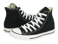 Converse All Star Chuck Taylor HI M9160 Black Canvas Shoes Medium (B, M) Women