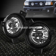 FOR 01-03 FORD RANGER CLEAR LENS FRONT BUMPER DRIVING FOG LIGHT REPLACEMENT LAMP