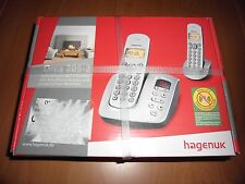 Hagenuk Orca 205-2 mit AB-Funktion Dect-Telefon-Erweiterungsset Schnurlos-Duo!.,