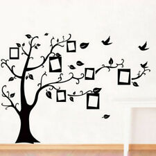 Wall stickers Photo frame family tree Decor Vinyl Decal Mural home *