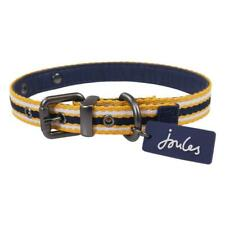NEW! Joules Yellow & Navy Coastal Stripe Dog Collar