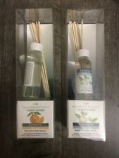 YANKEE CANDLE  2oz. REED DIFFUSER REFILL - Water Lily, Mandarin - Set Of Two