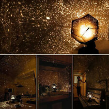 Star Sky Projector Night Light Lamp Romantic Cosmos Astro Galaxy Home Decor Gift
