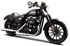 Motorrad Modell 1:12 Harley Davidson 2014 Sportster Iron 883 schwarz Maisto