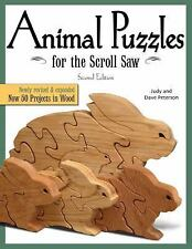 Animal Puzzles for the Scroll Saw, Second Edition: Newly Revised &-ExLibrary