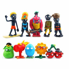 10pcs Plants vs Zombies Squash SunFlower Action Figures Figurines Cake Decor Toy