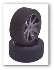 SP 1/10 Foam Racing Tires Sh. 40 26mm Kyosho Carbon Front Medium 05140Gold